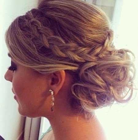 Prom Updo Wedding Long Hair