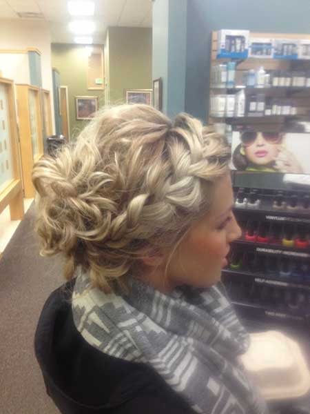 Updo, Wedding, Prom, Curls,