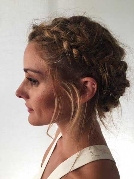 Short Braided Updo Hairstyles